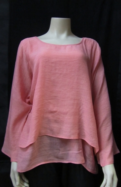 Beautiful doulble layers top - long sleeves
